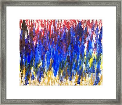Spp2 The Day I Had The Blues Framed Print
