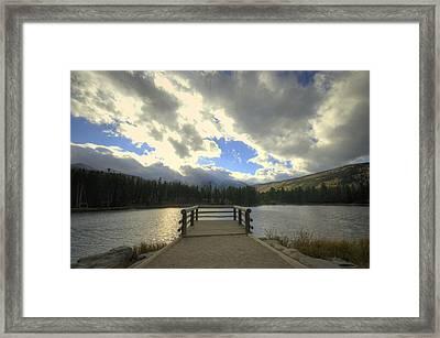Sprague Lake 1 Framed Print