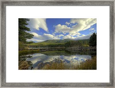 Sprague Lake 2 Framed Print