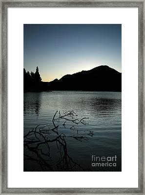 Sprague Lake Dawn Framed Print by Timothy Johnson