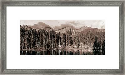 Sprague Lake Morning Framed Print