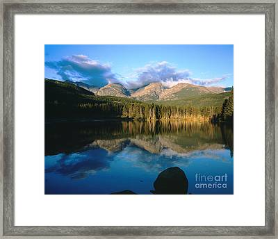 Sprauge Lake Framed Print