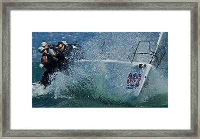 Spray - Melges 32 Framed Print