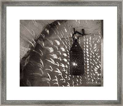 Spray Of Light Framed Print
