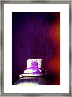 Sprayed Framed Print by Karol Livote