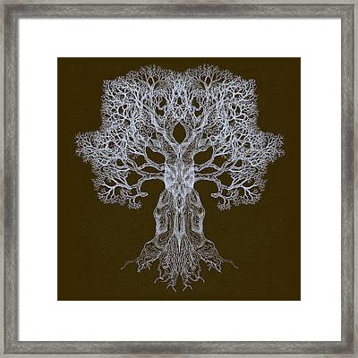Spreading In Every Direction Tree 13 Hybrid 3 Framed Print