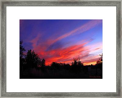 Framed Print featuring the photograph Spreading The Joy by Joyce Dickens