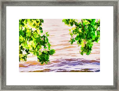 Spring 2 Framed Print by Lanjee Chee