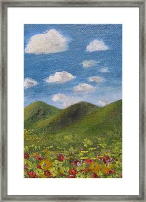 Framed Print featuring the painting Spring 2009 by Trilby Cole
