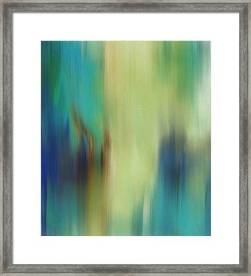 Spring Abstract Framed Print by Dan Sproul