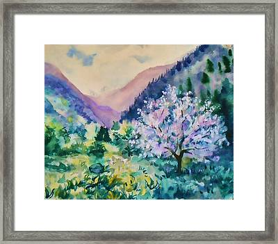 Spring Framed Print by Anastasia Michaels