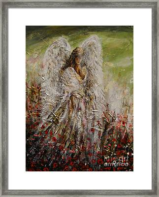 Spring Angel Framed Print
