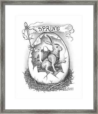 Spring Arrives Framed Print by Adam Zebediah Joseph