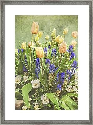 Spring Art - Life Captured Framed Print by Jordan Blackstone