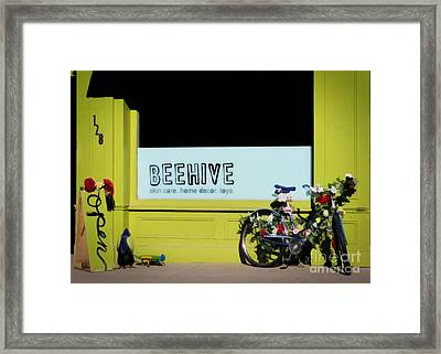 Spring At Beehive Framed Print