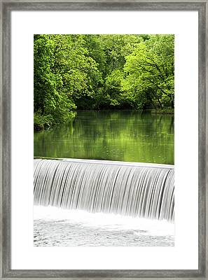 Framed Print featuring the photograph Spring At Buck Creek by Parker Cunningham
