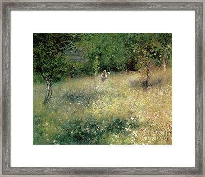 Spring At Chatou Framed Print