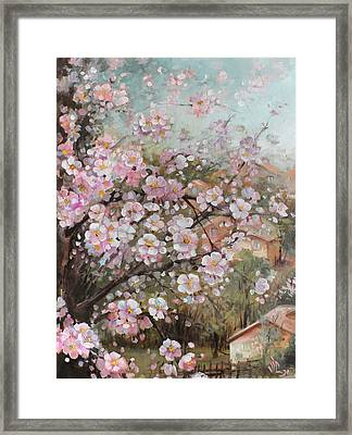 Spring At Country Side Framed Print