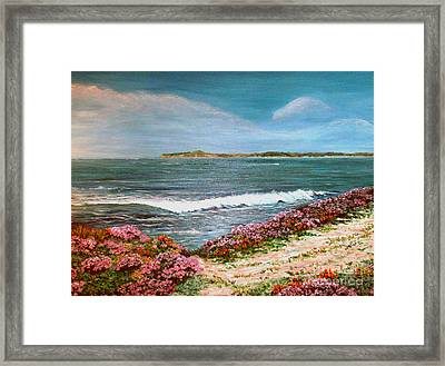 Spring At Half Moon Bay Framed Print