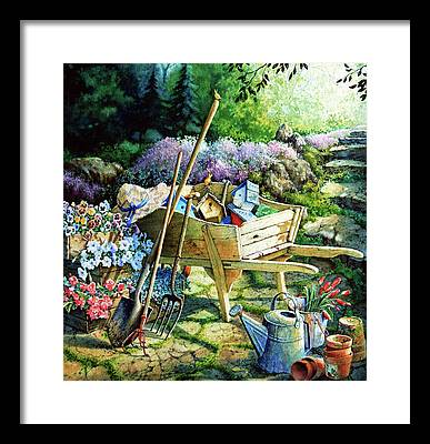 Garden Framed Prints