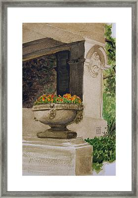 Spring At Pleasant Home Framed Print by Ted Gordon