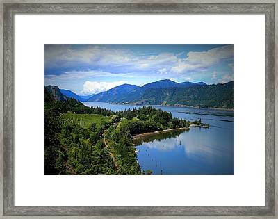 Spring At Ruthton Point Framed Print by Lynn Hopwood