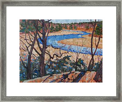 Spring At The Jones Framed Print by Phil Chadwick
