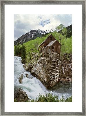 Spring At The Mill Framed Print by Dusty Demerson