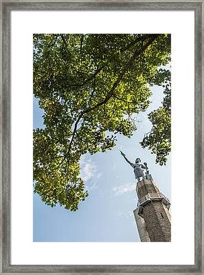 Spring At The Vulcan Framed Print by Parker Cunningham