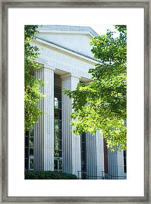 Framed Print featuring the photograph Spring At Uga by Parker Cunningham