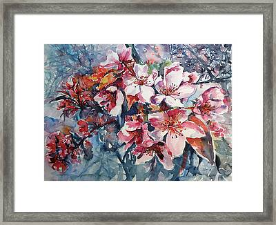 Framed Print featuring the painting Spring Beauty by Kovacs Anna Brigitta