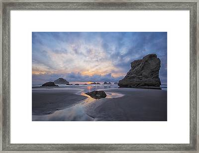 Framed Print featuring the photograph Spring Begins In Bandon by Patricia Davidson