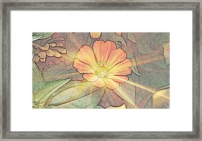 Spring Bling Framed Print