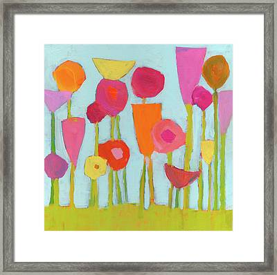 Spring Blooms Framed Print by Laurie Breen
