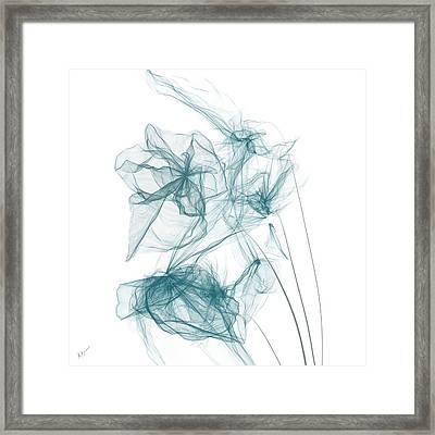 Spring Blues Framed Print by Lourry Legarde