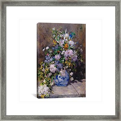 Spring Bouque Framed Print by MotionAge Designs