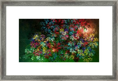 Spring Bouquet Framed Print by Adam Vance
