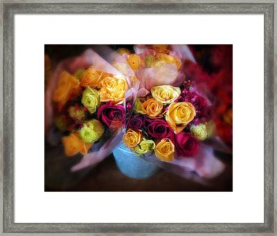 Spring Bouquet Framed Print by Jessica Jenney