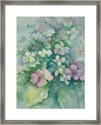 Spring Bouquet Framed Print by Sandy Collier