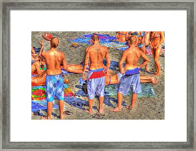 Spring Break Framed Print by Debra and Dave Vanderlaan