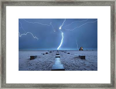Spring Break In Florida Framed Print
