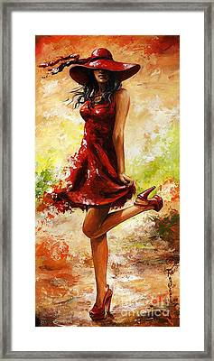 Spring Breeze Framed Print by Emerico Imre Toth