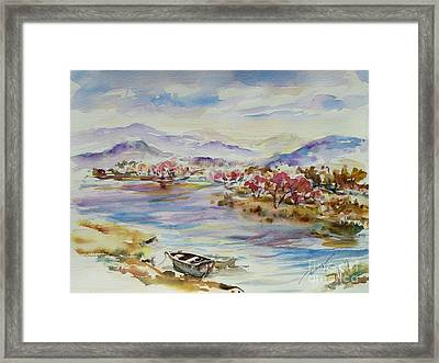 Spring Breeze Framed Print by Xueling Zou