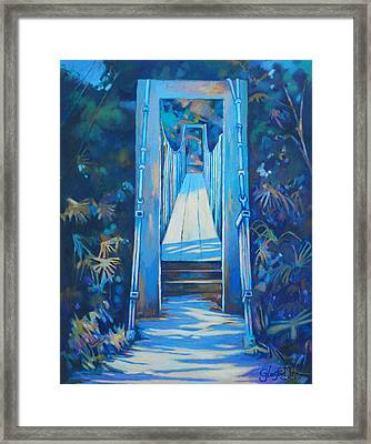 Spring Bridge I Framed Print