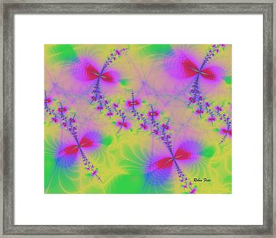 Spring Buzz Framed Print by Robin Foss
