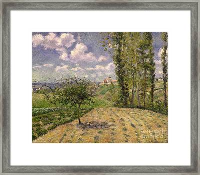 Spring Framed Print by Camille Pissarro