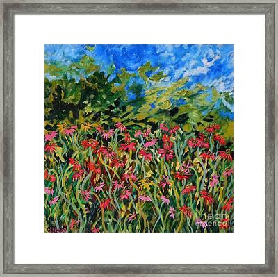 Spring Framed Print by Caroline Street