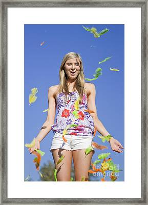 Spring Celebration Framed Print