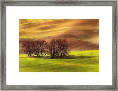 Spring Chapel Framed Print