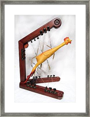 Spring Chicken  #139 Framed Print by Bill Czappa
